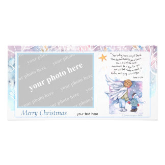 The Christmas Message Customised Photo Card