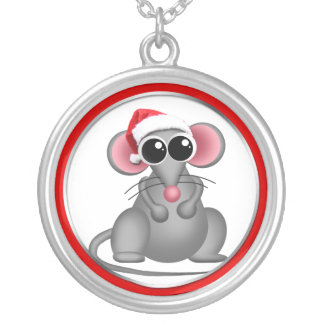 The Christmas Mouse Necklace