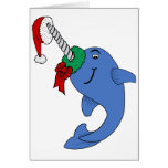 The Christmas Narwhal Card