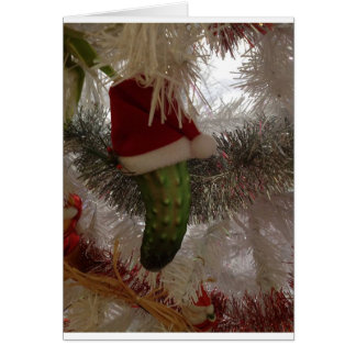 The Christmas Pickle Card