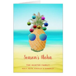 The Christmas Pineapple  | Greeting Card