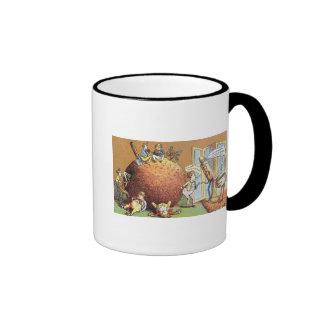 The Christmas Pudding Ringer Mug