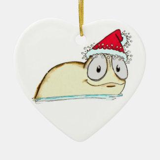 The Christmas Slug Christmas Ornament