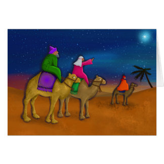 The Christmas Wise Men Greeting Card