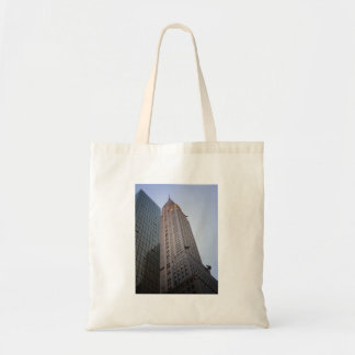 The Chrysler Building at Dusk, New York City Tote Bags