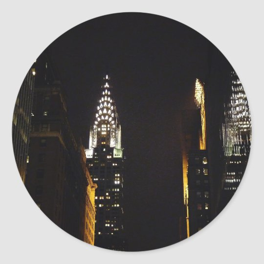 The Chrysler Building at Night, New York City