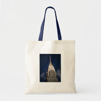 The Chrysler Building, New York City Budget Tote Bag