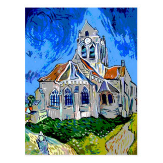 The Church at Arles Postcard