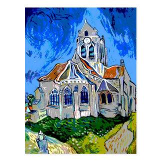 The Church at Arles Postcards