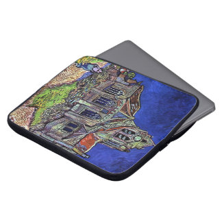 The Church at Auvers by Vincent van Gogh 1890 Laptop Sleeve
