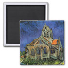 The Church at Auvers by Vincent van Gogh Magnet