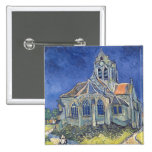 The Church at Auvers-sur-Oise Pinback Buttons