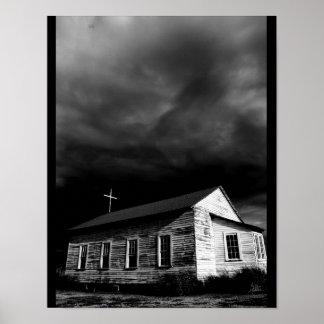 The Church at Frogmore Plantation #1 [Print] Poster