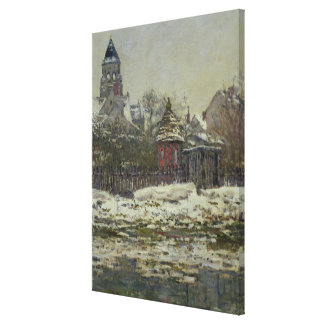 The Church at Vetheuil, 1879 Canvas Print