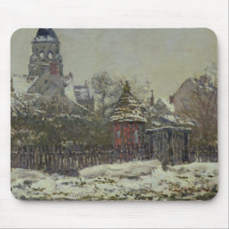 The Church at Vetheuil, 1879 Mouse Mat