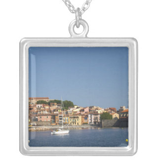 The church Eglise Notre Dame des Anges, our lady 2 Silver Plated Necklace
