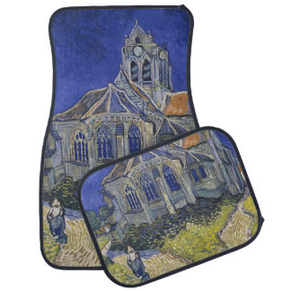The Church in Auvers by Vincent van Gogh Car Mat