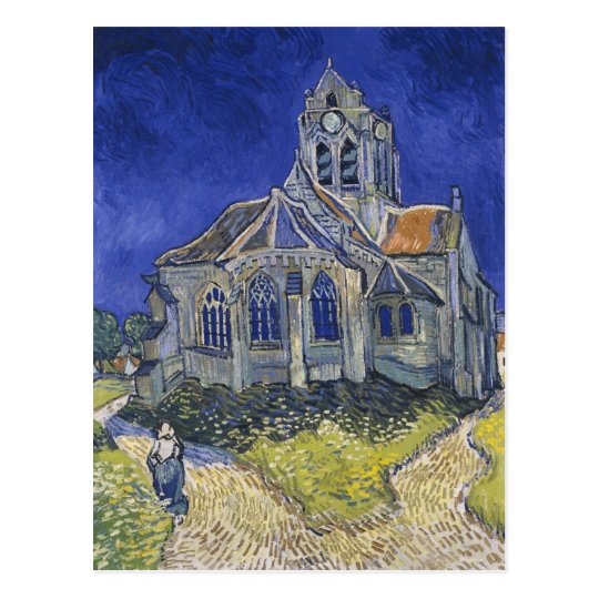 The Church in Auvers by Vincent van Gogh