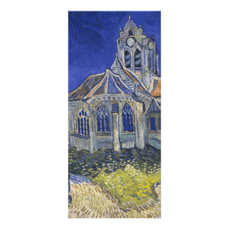 The Church in Auvers by Vincent van Gogh Rack Cards