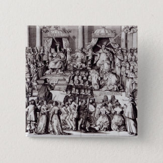 The Church of England Against the Papacy 15 Cm Square Badge