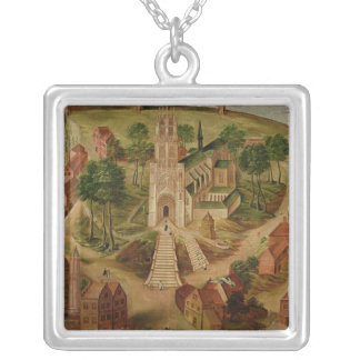 The Church of Saint-Gery Silver Plated Necklace