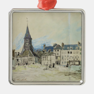 The Church of Sainte-Catherine, Honfleur, 1864 Christmas Ornament