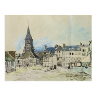 The Church of Sainte-Catherine, Honfleur, 1864 Postcard