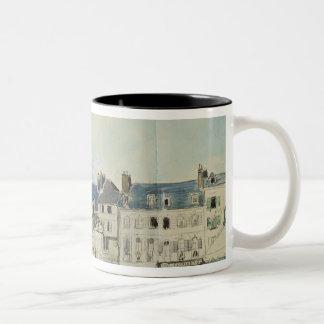 The Church of Sainte-Catherine, Honfleur, 1864 Two-Tone Mug