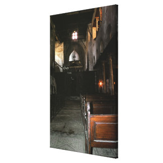 The Church of Saints Sergius and Bacchus Canvas Print