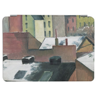 The Church of St Mary in Bonn in Snow, 1911 iPad Air Cover