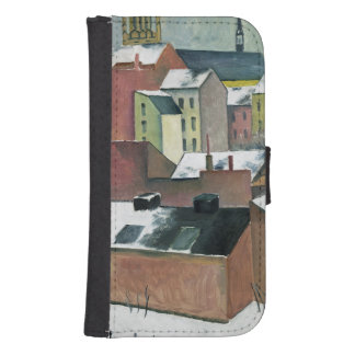 The Church of St Mary in Bonn in Snow, 1911 Samsung S4 Wallet Case