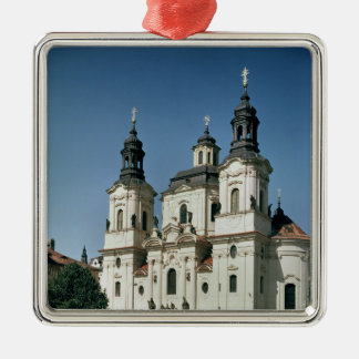 The Church of St. Nicholas, built 1703-61 Christmas Ornament