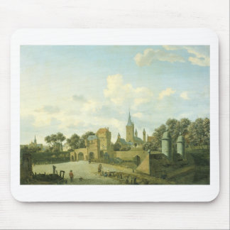 The church of St. Severin in Cologne in a fictive Mouse Pad
