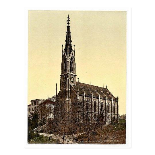 The Church of Unterstrasse, Zurich, Switzerland vi Postcard
