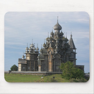 The Church on Khizhi Island Mouse Pad