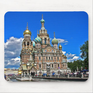 The Church on the Spilled Blood Mouse Mat