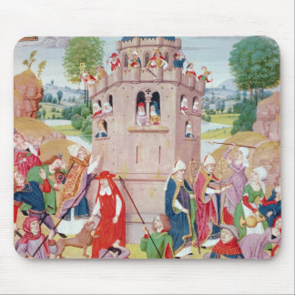 The Church under attack from heretics, Flemish Mouse Mat