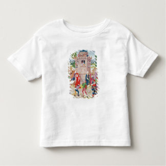 The Church under attack from heretics, Flemish Toddler T-Shirt