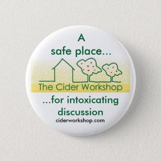 The Cider Workshop Button Badge
