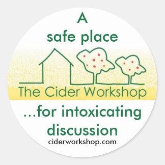 The Cider Workshop Sticker
