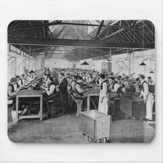 The cigar manufacturing departments mouse mat