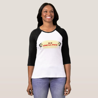 The Cinema Snob Logo - Women's 3/4 Sleeve T-Shirt