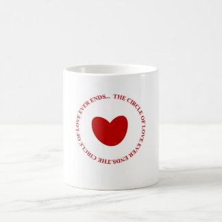 The circle of Love Basic White Mug