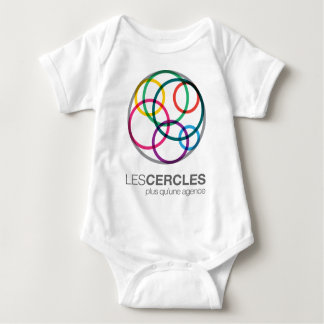 The CIRCLES Slogan Logo Baby Bodysuit