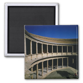 The Circular Courtyard of the Palace of Charles Fridge Magnet