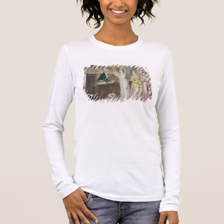 The Circulating Library (pen and ink and w/c and w Long Sleeve T-Shirt