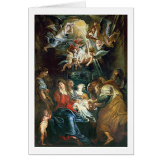 The Circumcision, c.1605 (oil on canvas) Greeting Card