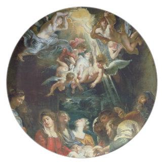 The Circumcision, c.1605 (oil on canvas) Plate