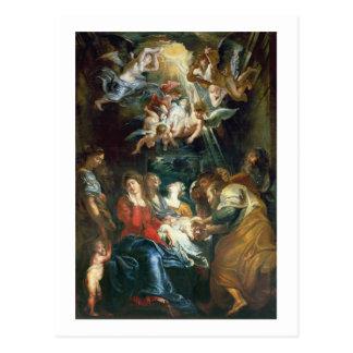 The Circumcision, c.1605 (oil on canvas) Postcard