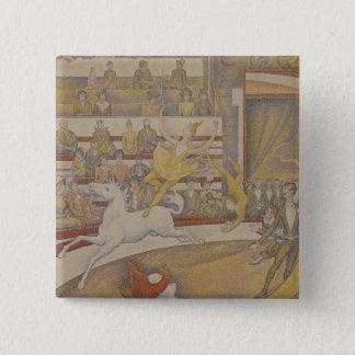 The Circus, 1891 15 Cm Square Badge